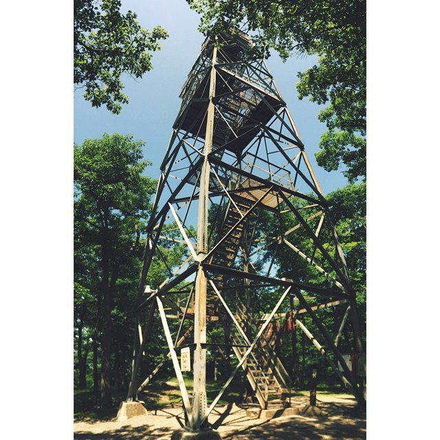 Climbed this thing today. It was awesome | Dorset Lookout Tower