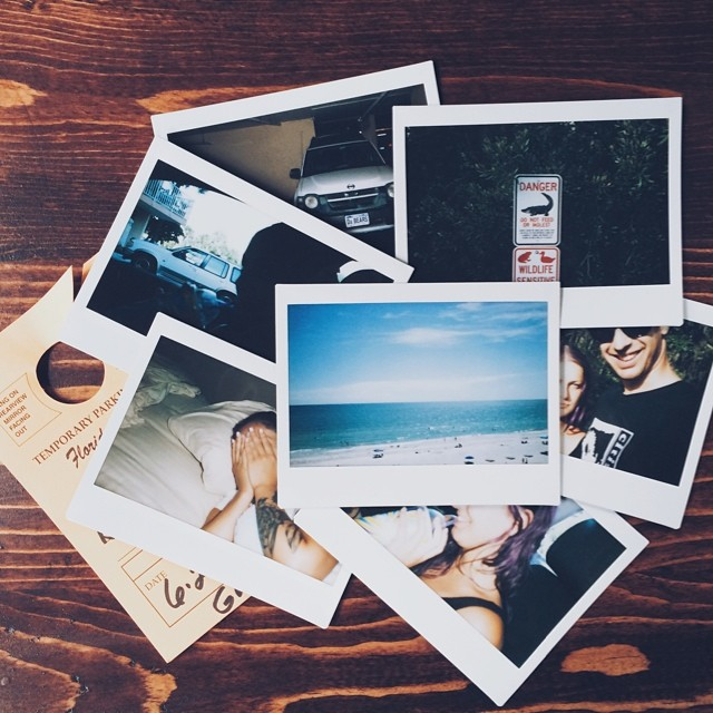 Had the best weekend(s) with the rillest girl. She's so rill. #ineedtomovetocanada #shessorill #GS #madeirabeach #florida #dabears #instax #fujifilm #vsco