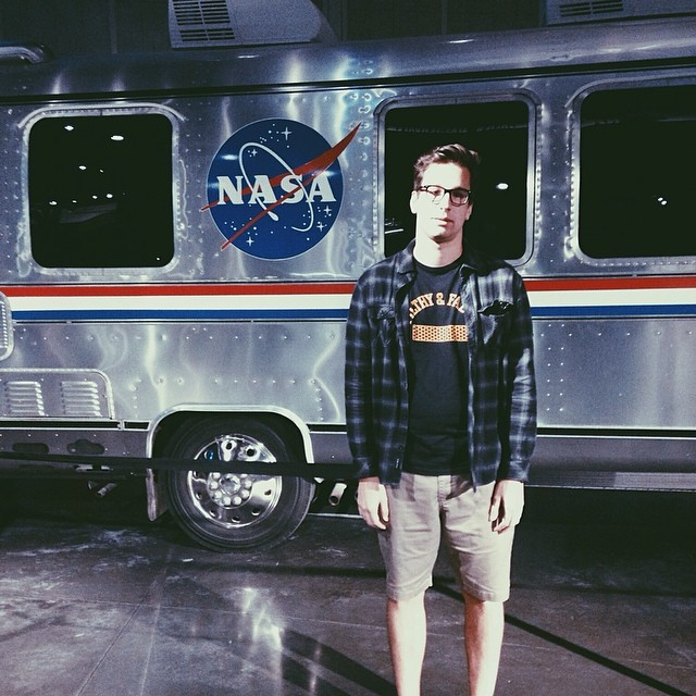 Enthused. Don't let my ugly face fool you, I'm beyond stoked. #kennedyspacecenter #space #nasa #atlantis #shuttle #sorrynotsorry