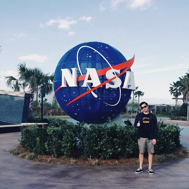 "I don't care what they say @nasa, I still think you're cool. ""Keep looking up"" #kennedyspacecenter #space #nasa #atlantis #shuttle #sorrynotsorry"