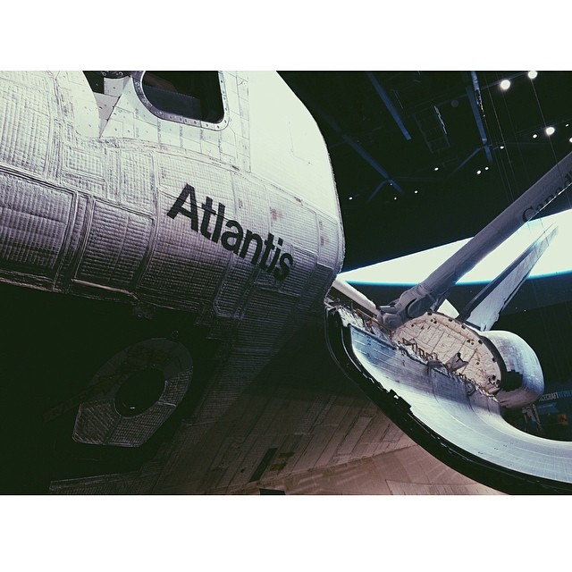 Up close and personal. #kennedyspacecenter #space #nasa #atlantis #shuttle