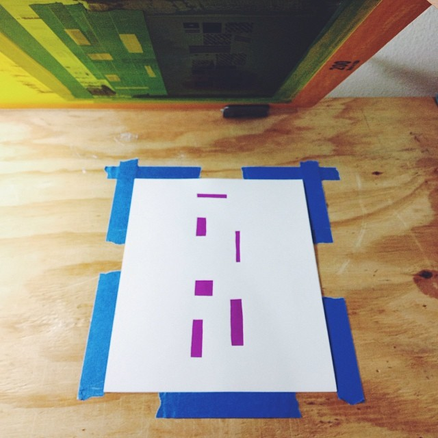 Eye pt. 2 #screenprint #screenprinting #print #eye #printersanonymous #illustration #letter #type #whisperingeye (at Printers Anonymous)