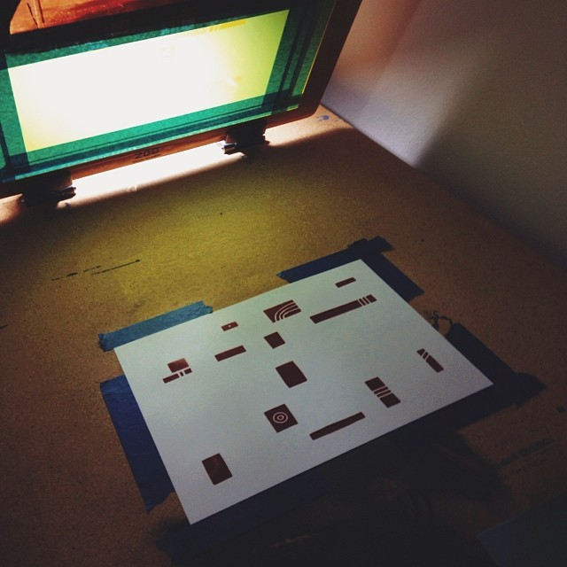 Printing has commenced… (at Printers Anonymous)