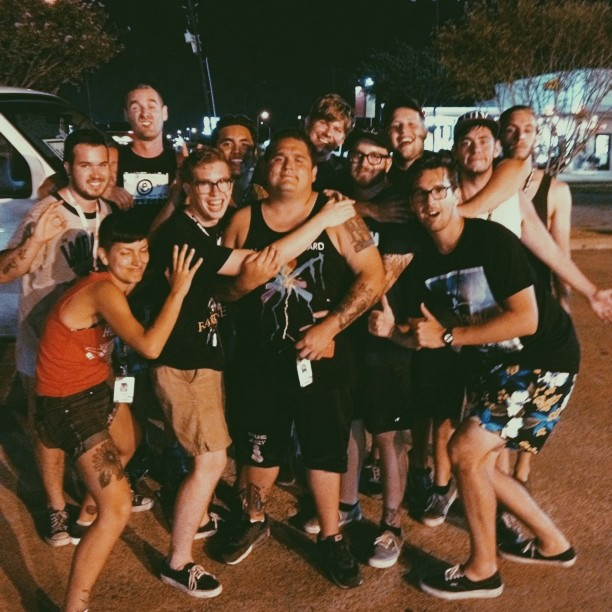 The Sheds and Mixtapes after Warped eats/hang…