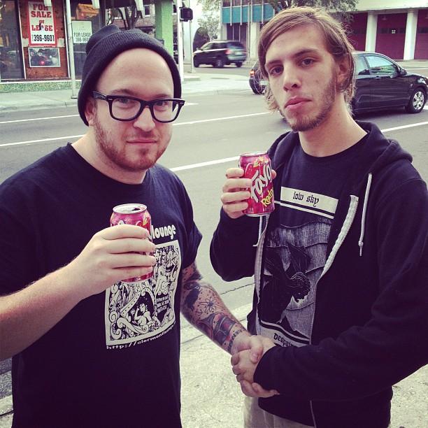 The Sheds genuinely enjoy drinking Faygo… (at Burro Bar)