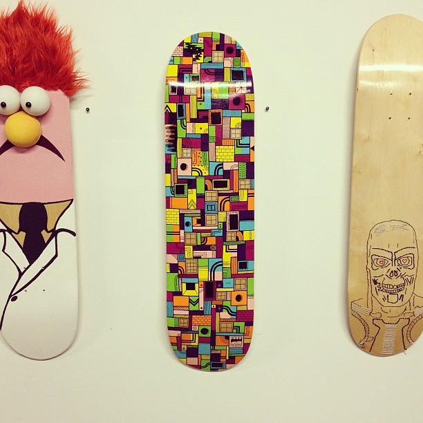 My board @ the I'm Board 5 show (at CORK!)