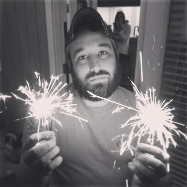 Happy NYE… #NYE #sparklers