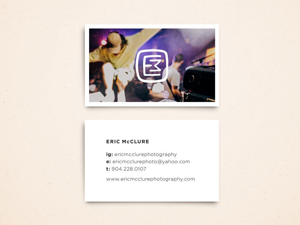 Eric McClure Biz Card