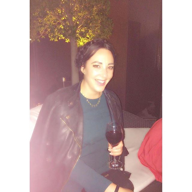Last night. No filter, just a wonky camera flash and a few glasses of 🍷