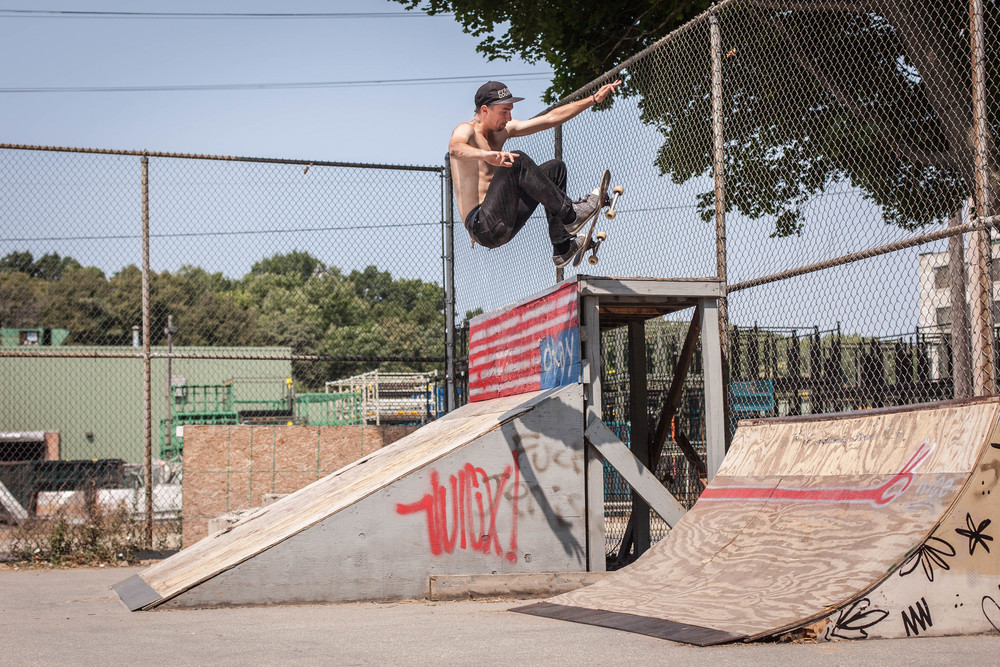 Justin Modica / F/S wallie from high to low / Grand Rapids, MI