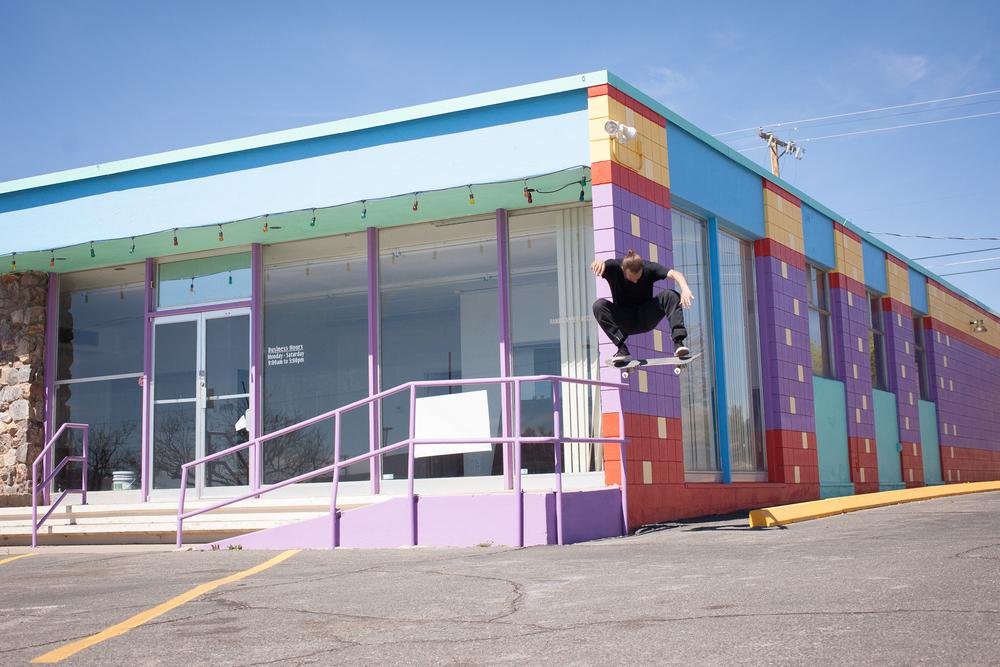Kevin Braun / switch kickflip // Albuquerque, New Mexico