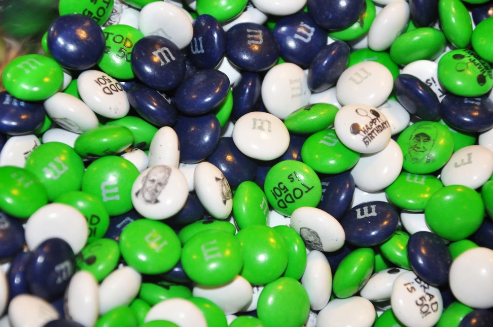 personalized m&m's golf