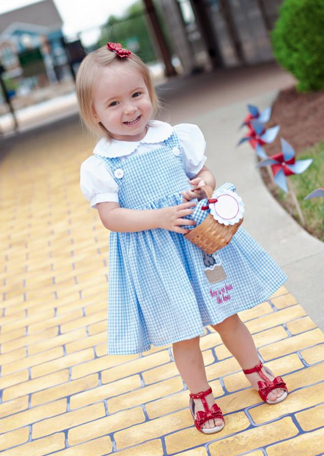 birthday girl custom dress gingham