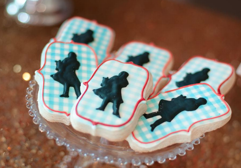 sugar cookie wizard of oz gingham