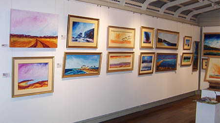 Macleay Valley Community Art Gallery, Gladstone  Front room