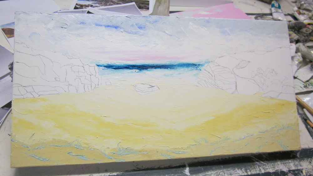 Sand Sea and Sky added..