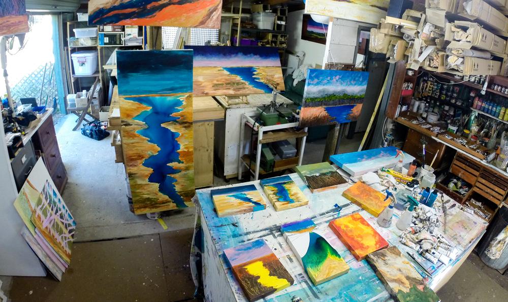 blue water series