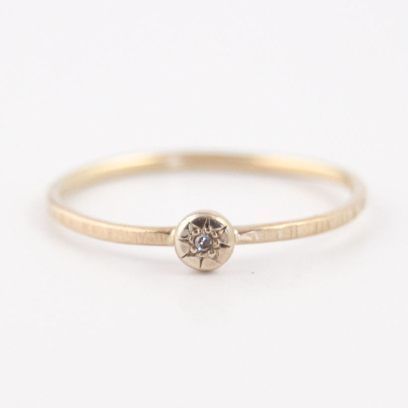compass rose diamond ring EMI GRANNIS