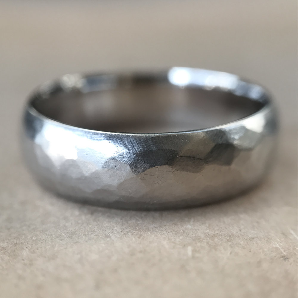 hammered half-round men's ring.jpg