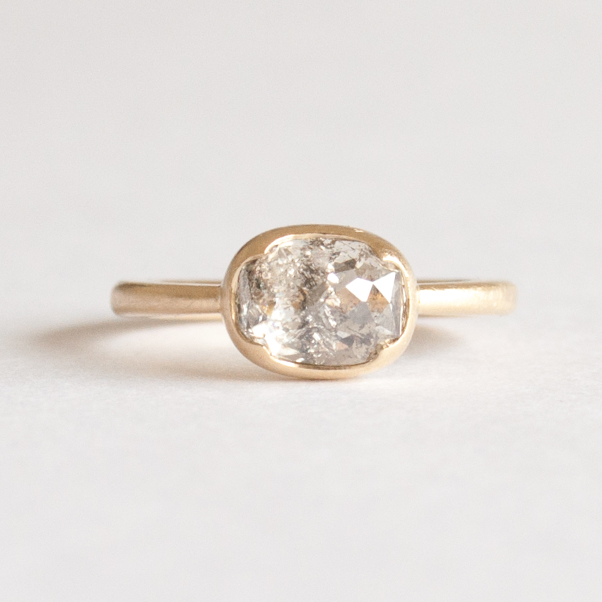 scalloped bezel rose cut diamond ring.jpg
