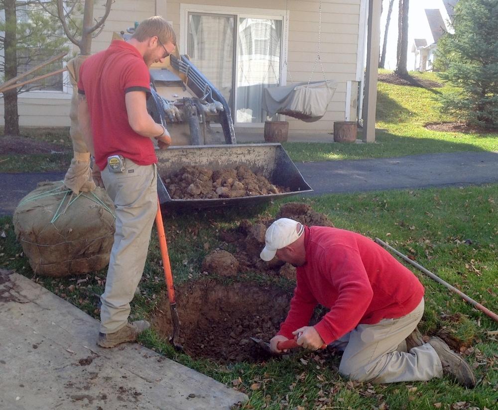 2012 11 21 Joes fall install 3.JPG