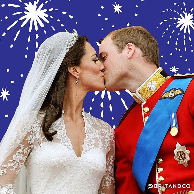 Happy anniversary to our favorite royal couple! #britstagram