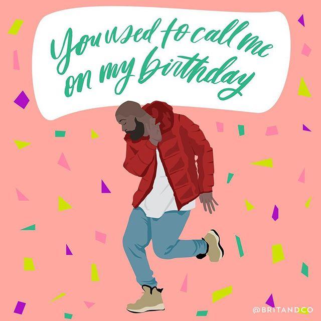 Happy 30th birthday, @champagnepapi! #britstagram
