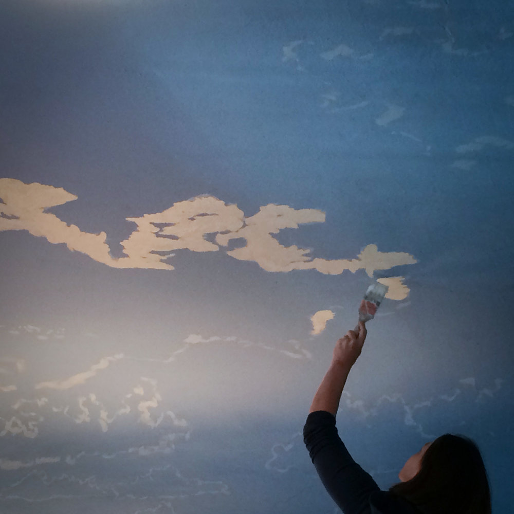 cloud ceiling while being painted.jpeg