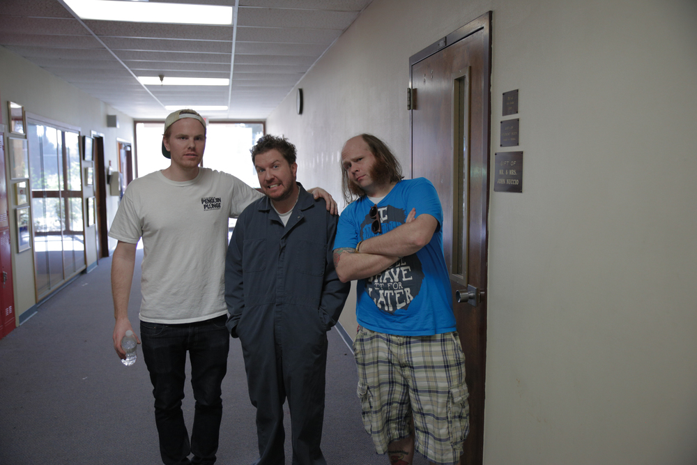 Myself, Nick Swardson and Mark Floyd