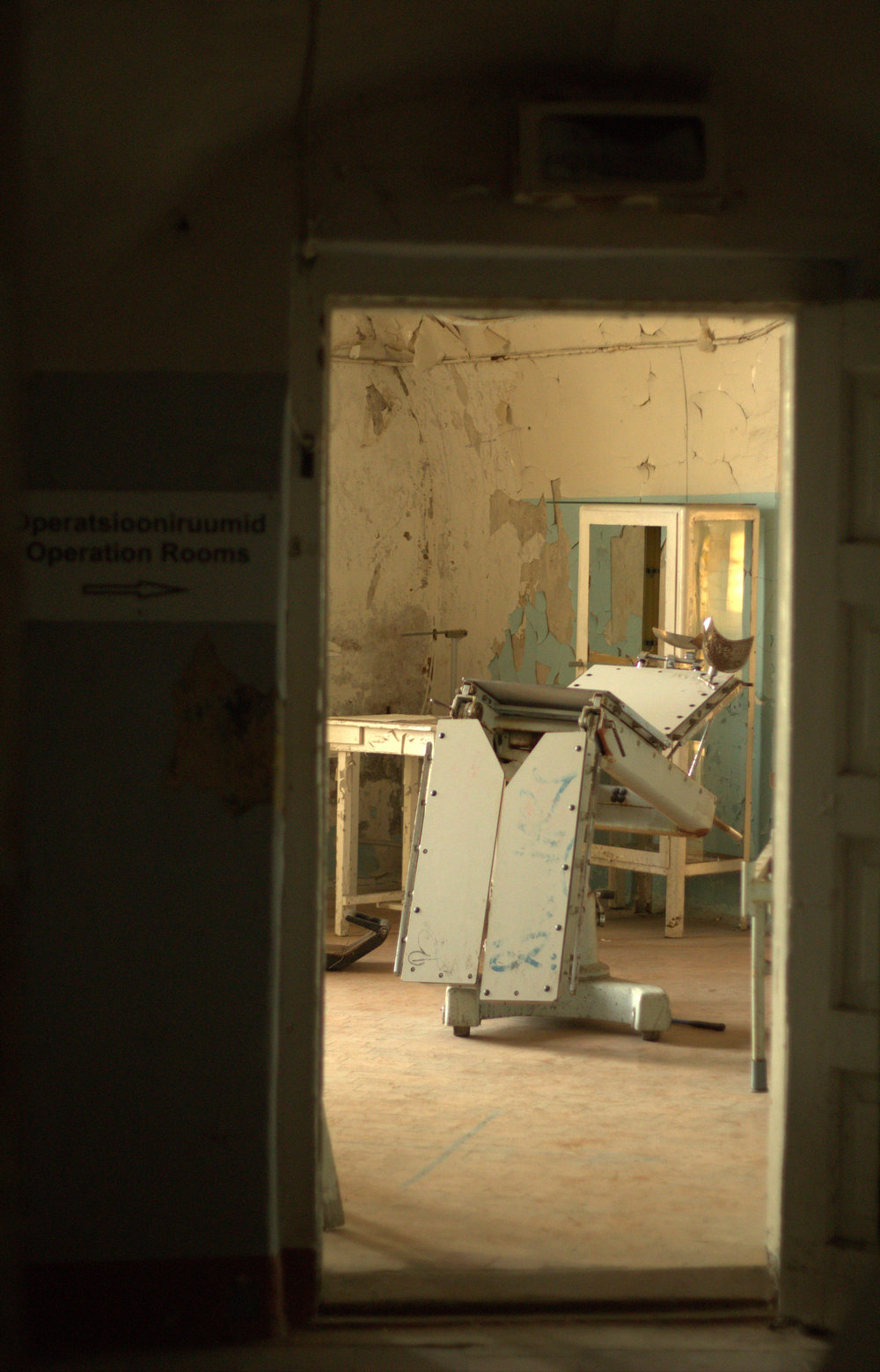 Sillapara realizar estudiosdentales/ginecológicos en la cárcel soviética de Patarei