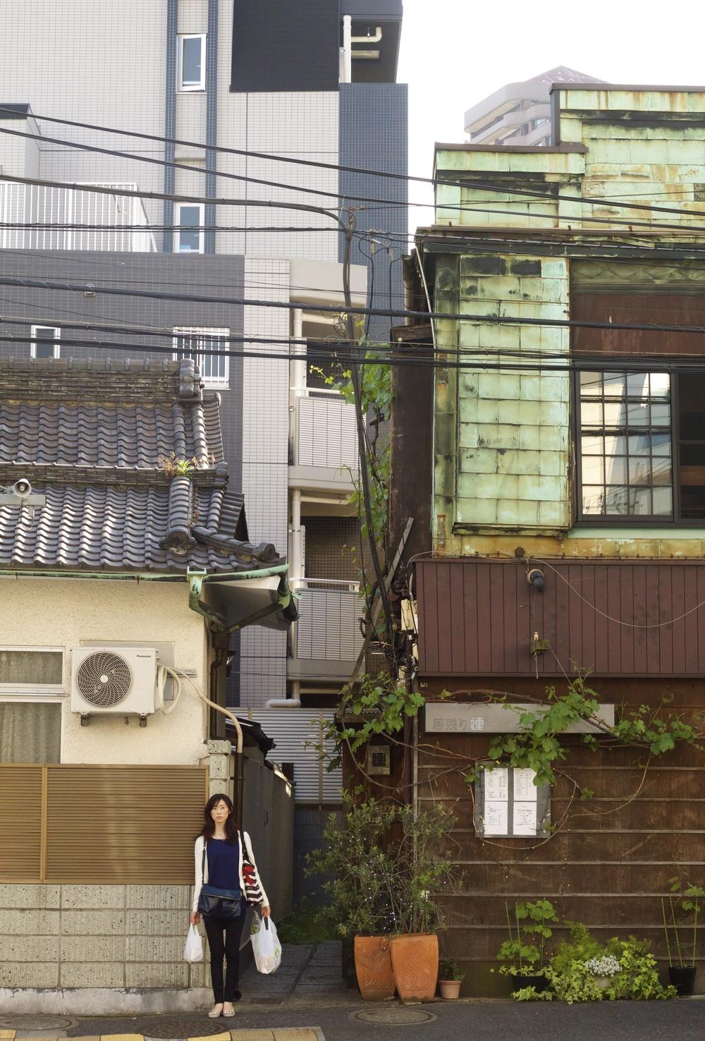 Esquina de Shinagawa. Tokyo, Japón - Abril 2015