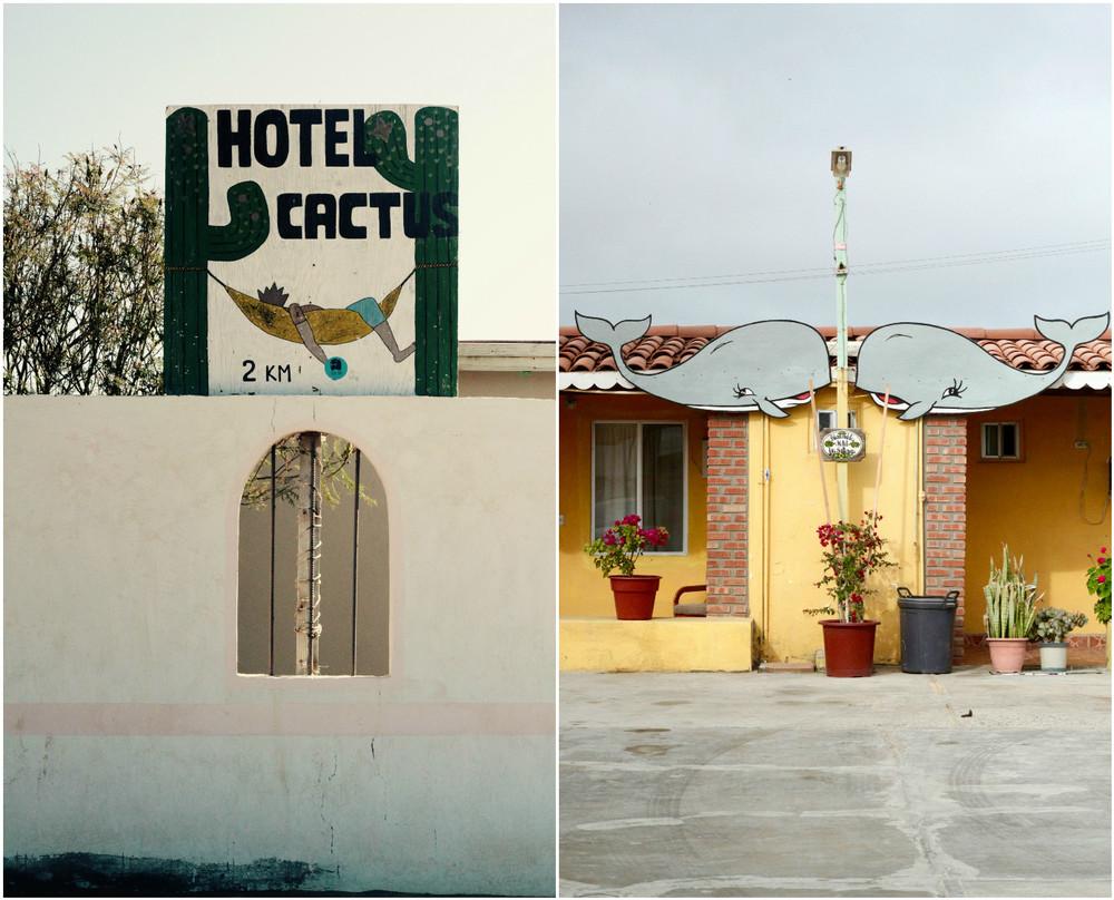 Carteles. Baja California, México - Marzo 2016