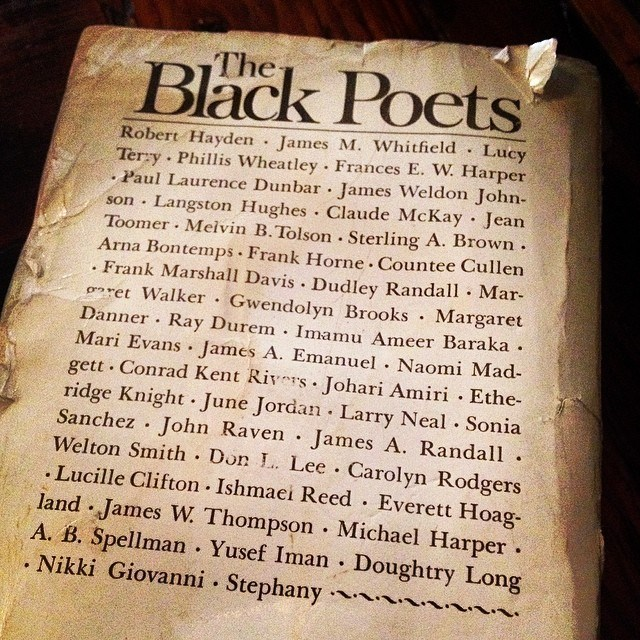 """Name in the rafters. Champions who championed thru life's chapters."" #Happy #NationalPoetryMonth#LinesOnMyMind #DigginInThePapes #Inspiration#PayingHomage #TheBlackPoets #WriteON"