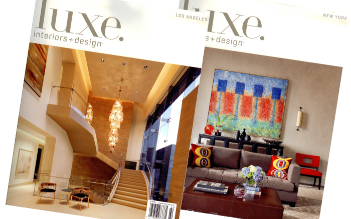 Luxe interiors + Design - M. Frederick