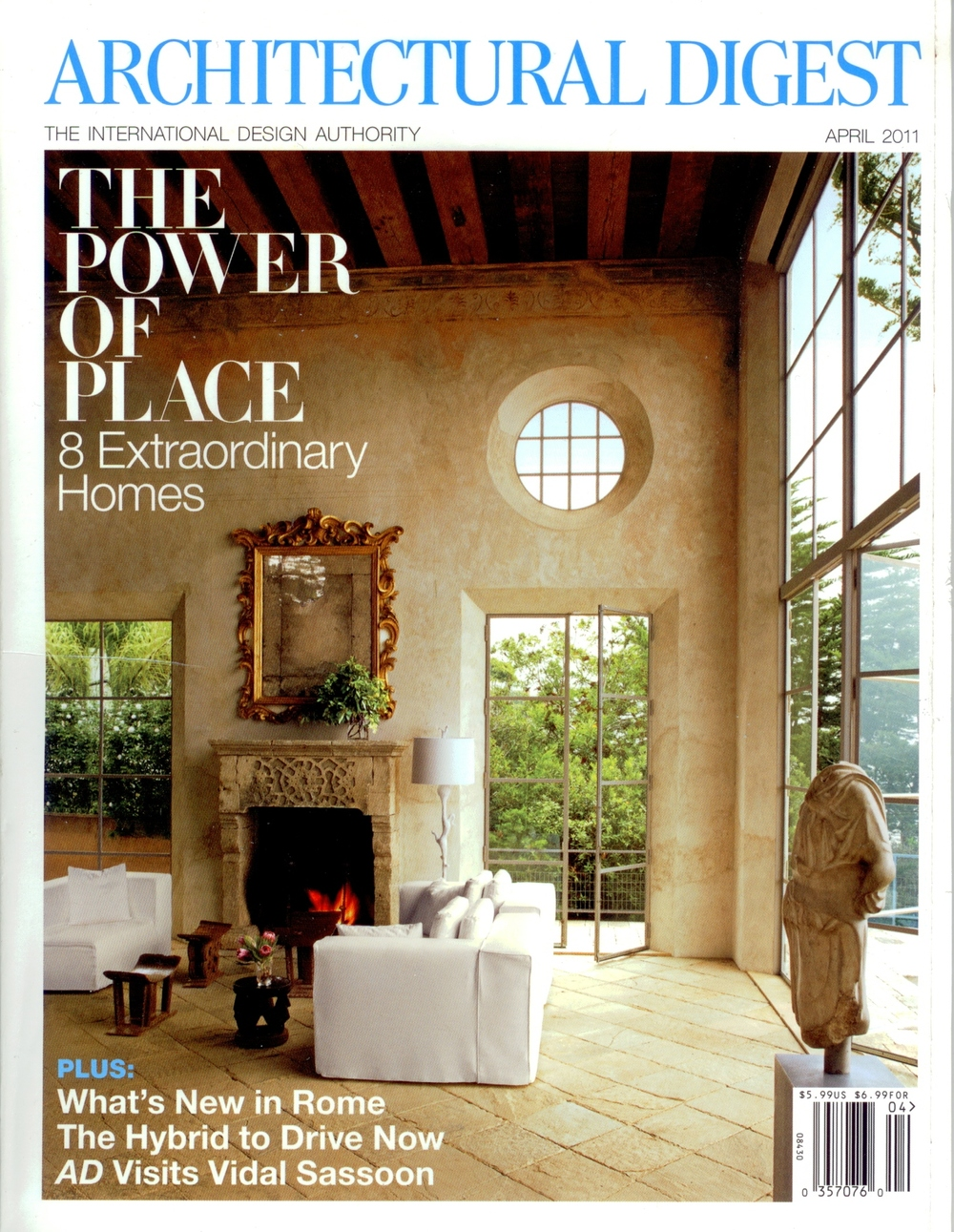 Architectural Digest - April 2011