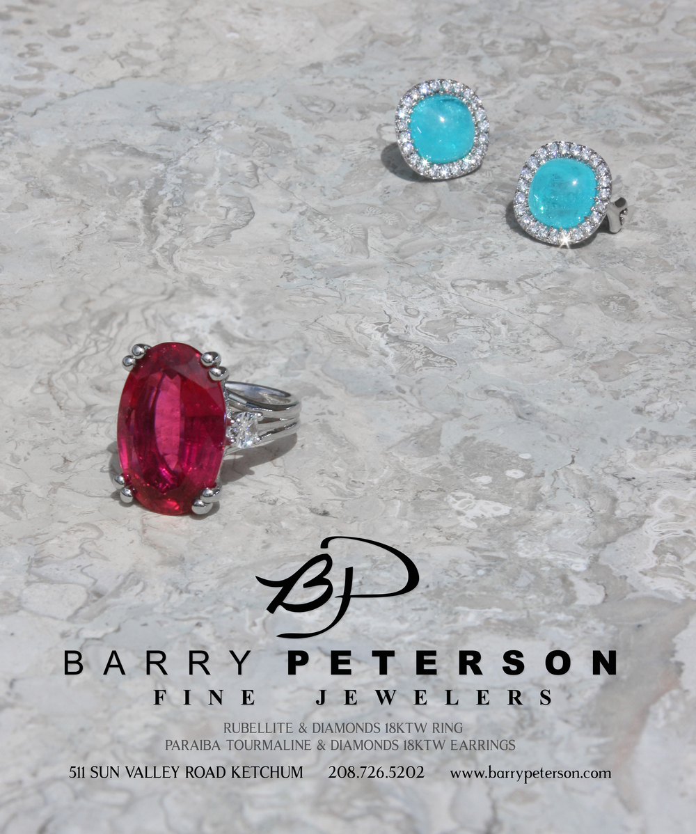 Barry Peterson Fine Jewelers Ad