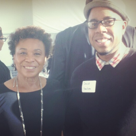 Me & Congresswoman Barbara Lee at her birthday party 7/14