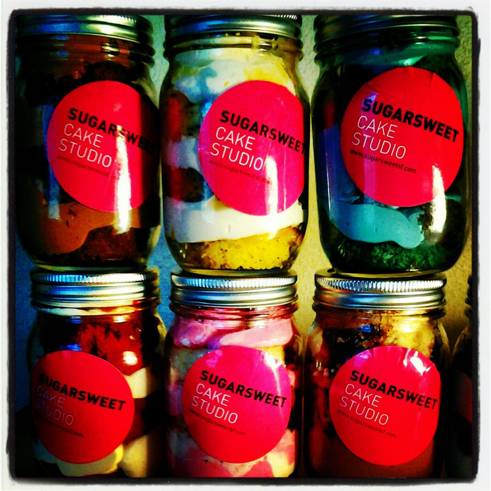 Sugarsweet cake jars!