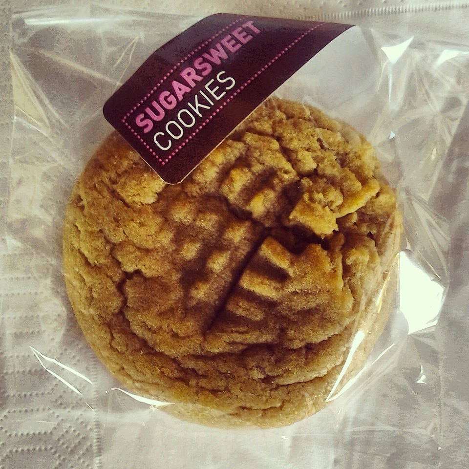 Organic Peanut Butter Cookie.
