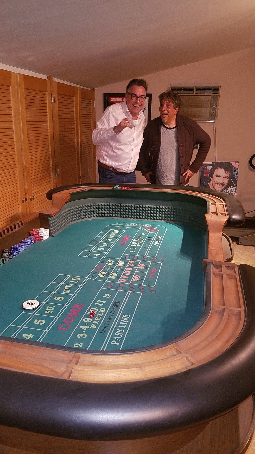 Shooting Craps with a Horseman