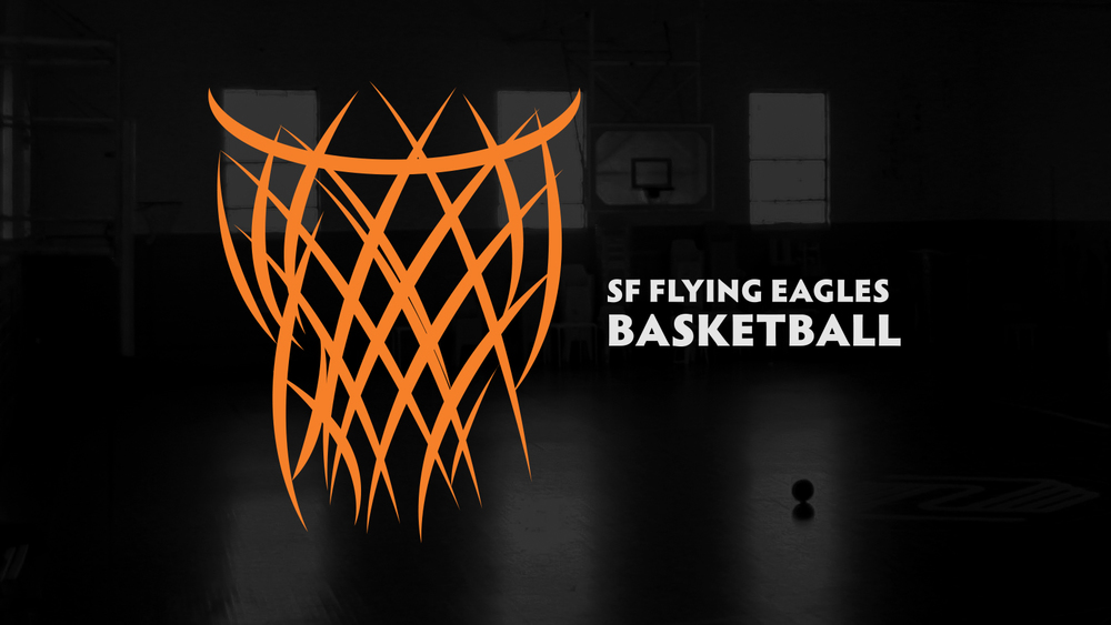 Flying Eagles Basketball Justin Macha Art Director