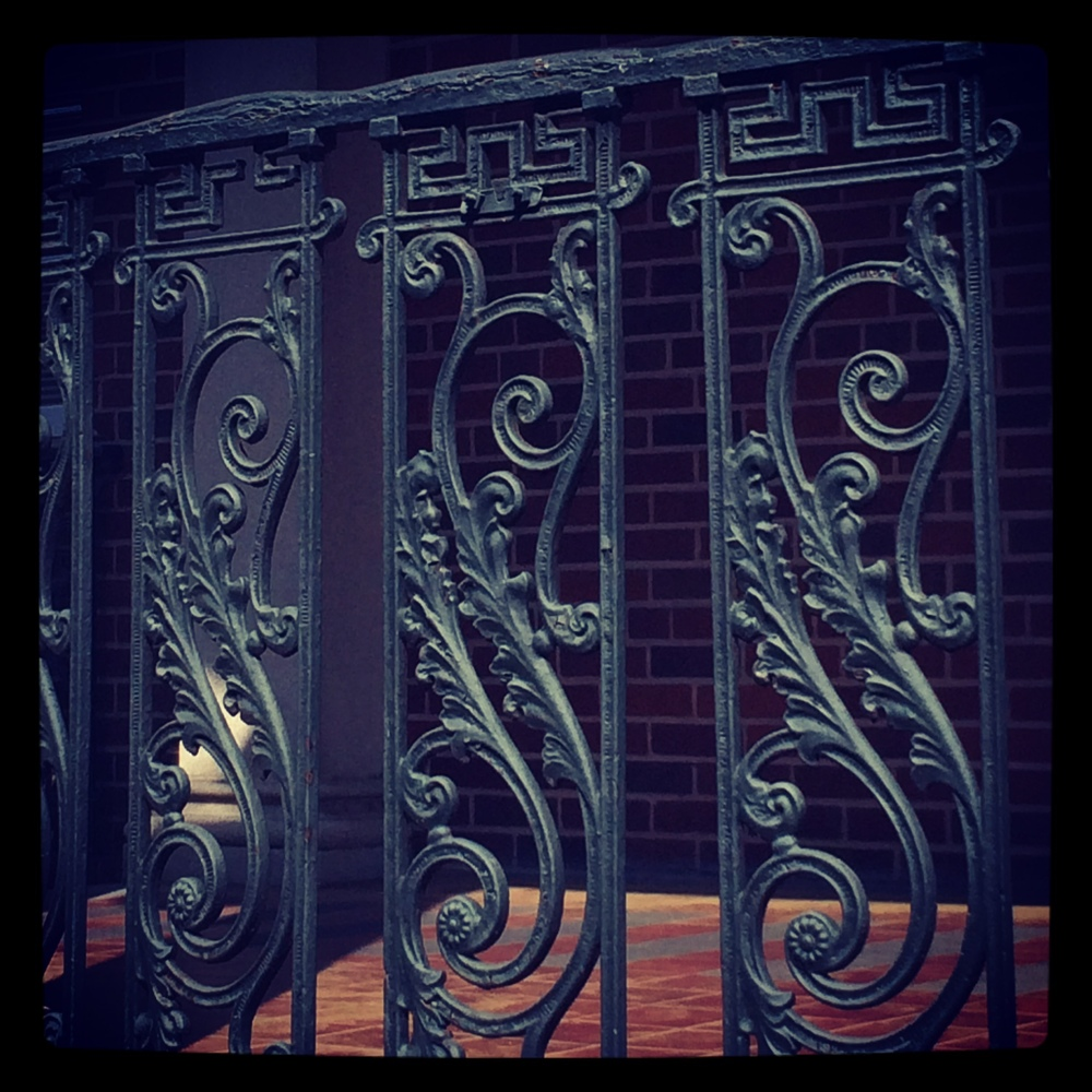 Savannah Ironwork by For the Love of Pattern #loveofpattern www.loveofpattern.com