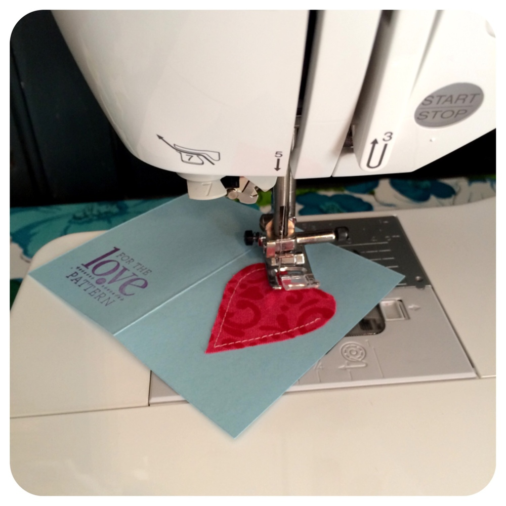 Process of making handmade cards by For the Love of Pattern #loveofpattern www.loveofpattern.com