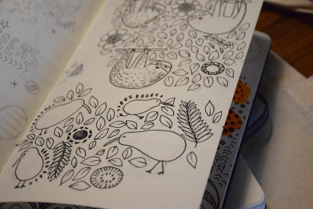 Pomelo & Pomelo - Drawings