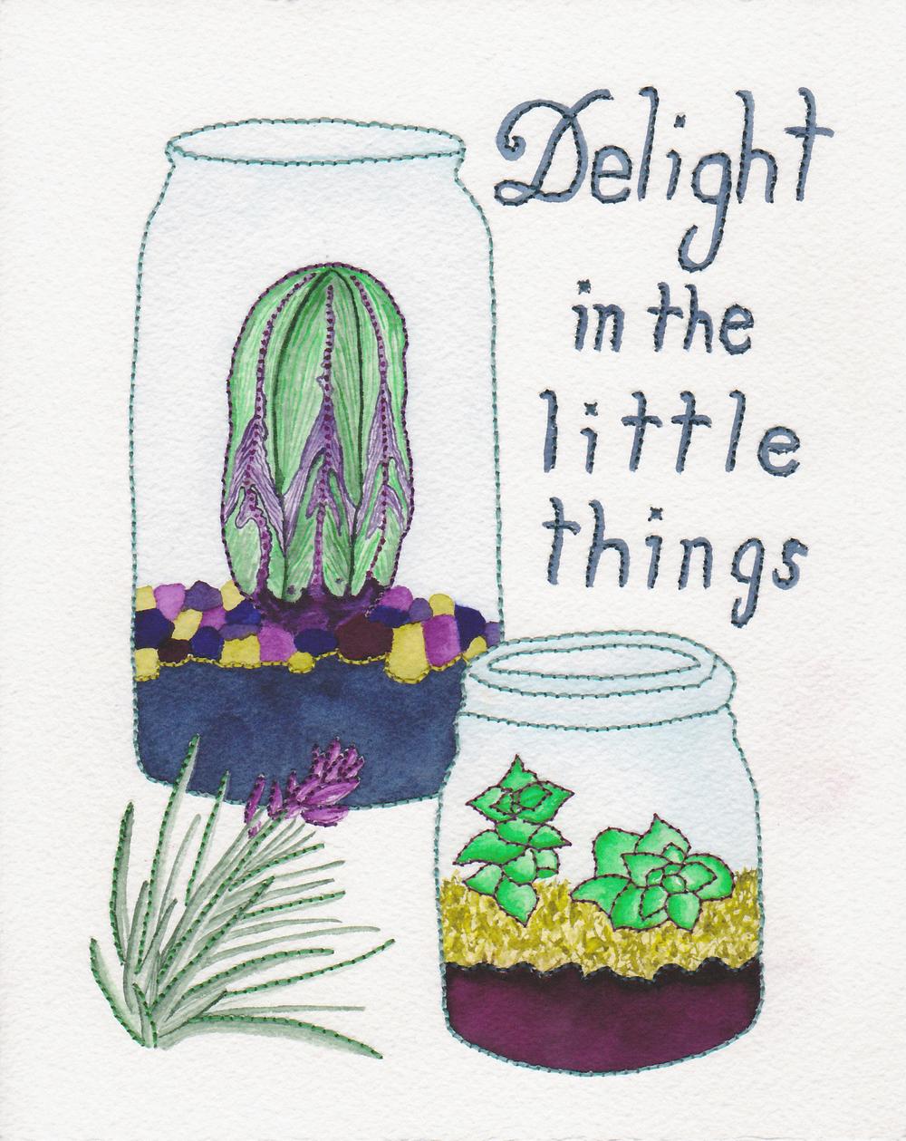 Delight in the Little Things #loveofpattern
