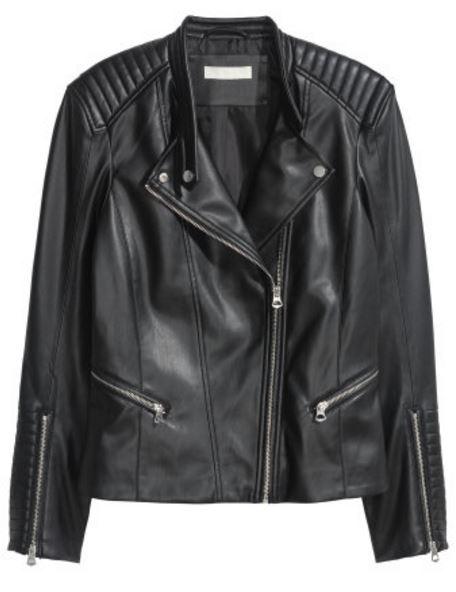 leather motorcycle jacket minimal style daily
