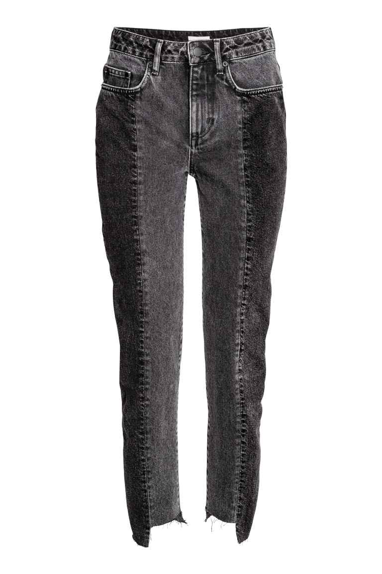 HM 2 Tone Jeans Minimal Style Daily
