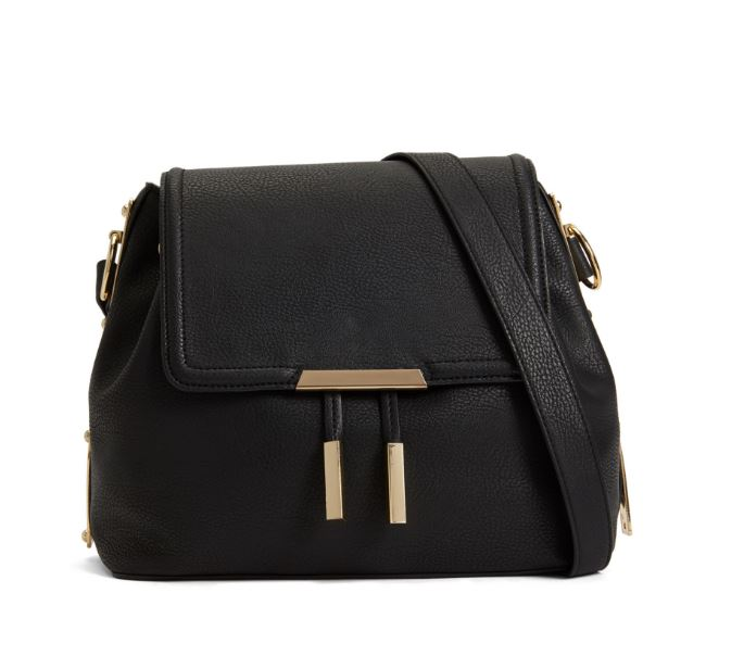 Aldo Crossbody Black Gold