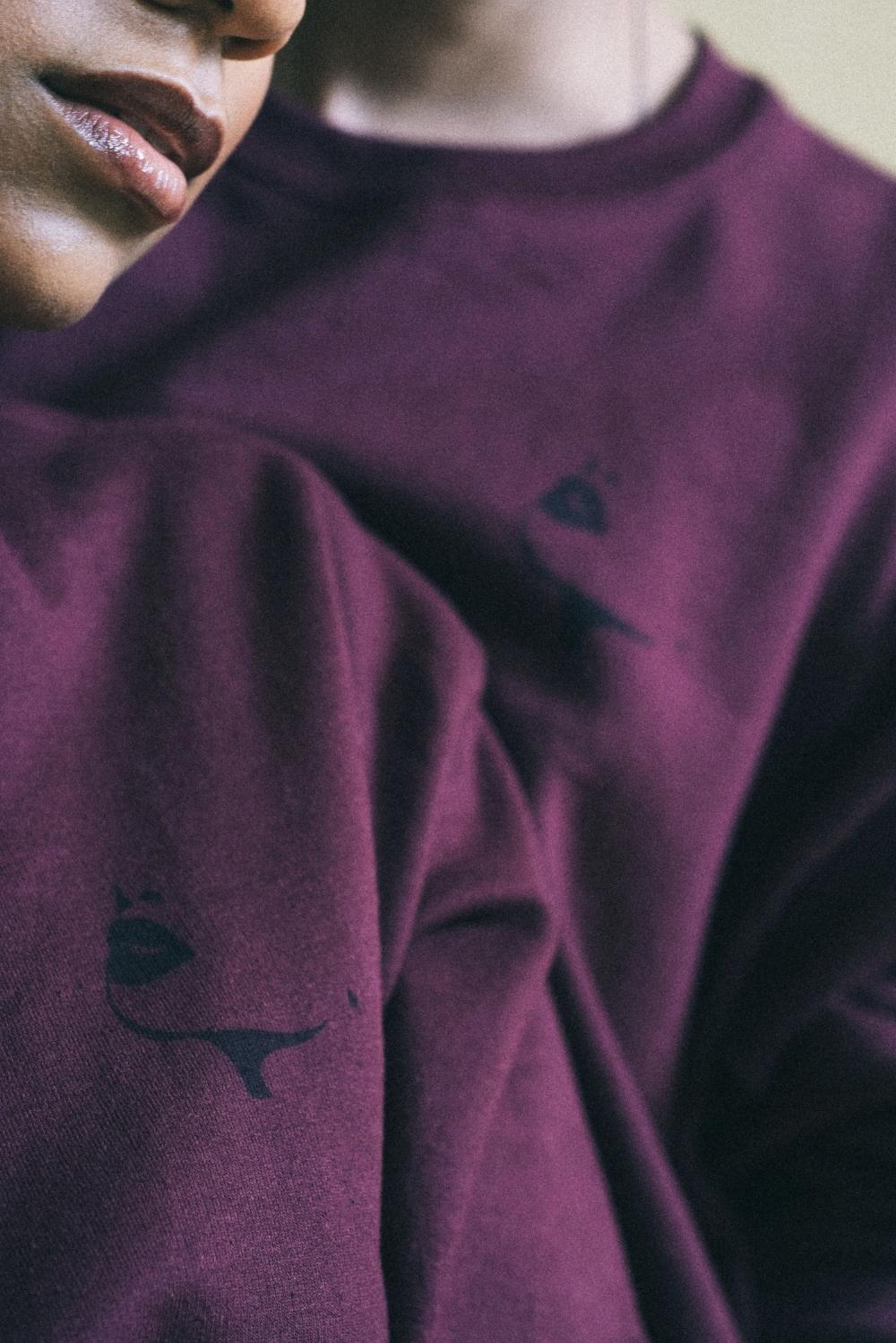 Maroon Logo Sweatshirt