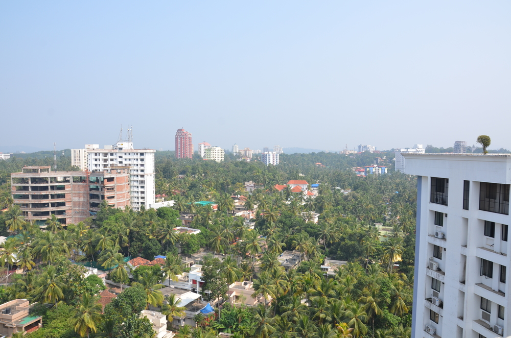 View over Trivandrum